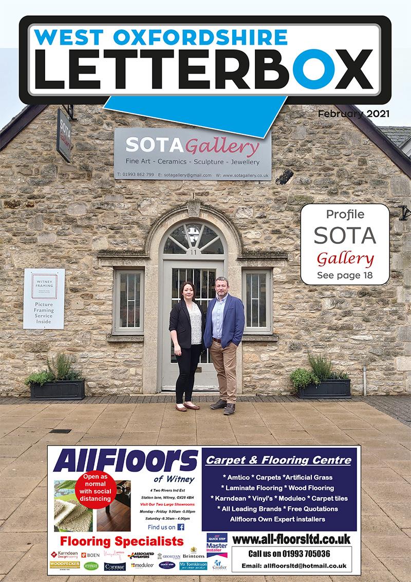 Witney February 2021 Magazine Cover