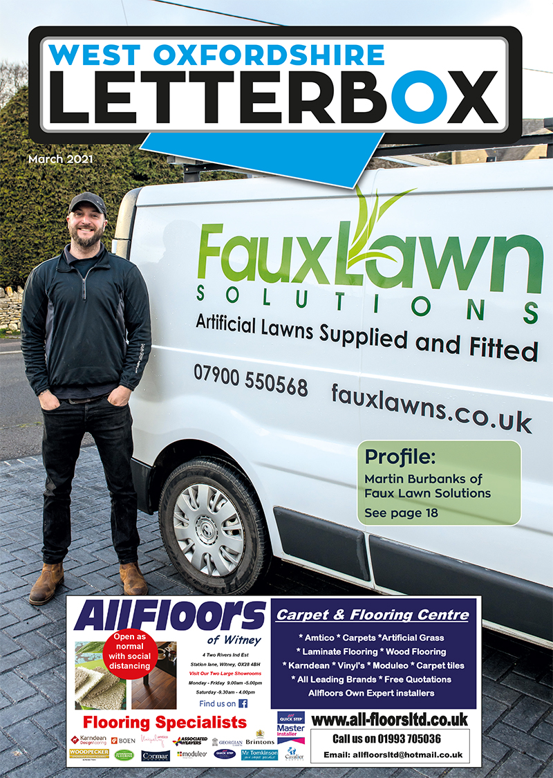 Witney Letterbox March 2021 Magazine Cover