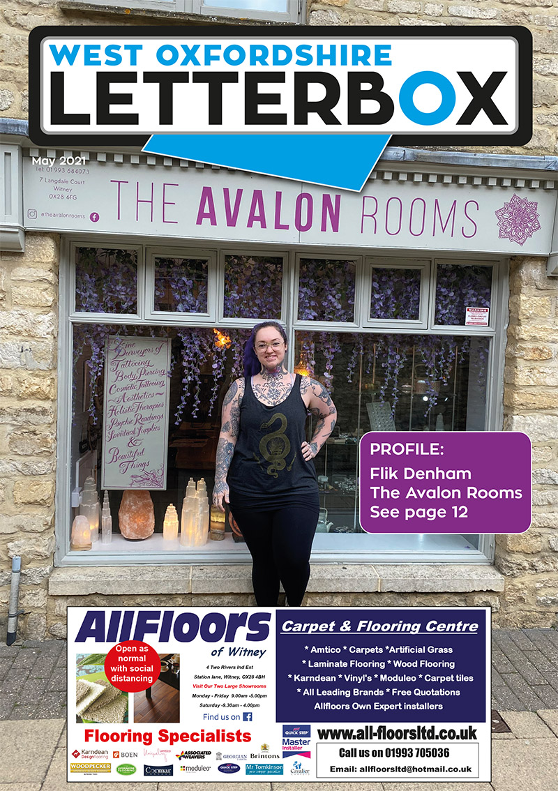 Witney Letterbox May 2021 Magazine Cover