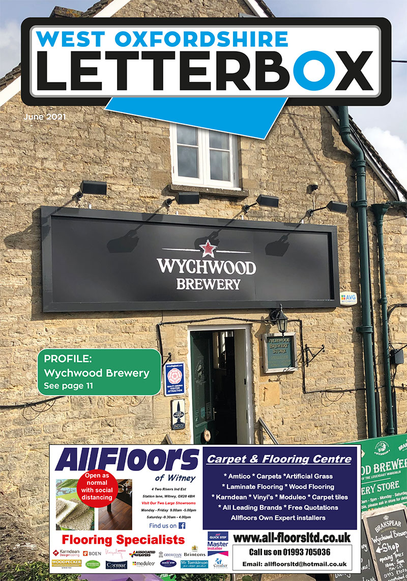 Witney Letterbox June 2021 Magazine Cover